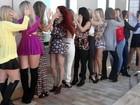 Candidatas do time de Ivonete Liberato fazem mistério antes de dançar
