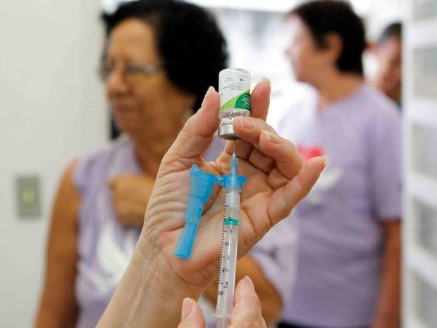 Meta é vacinar 80% do públic-alvo (Foto: Secretaria Estado de Saúde/Divulgação)