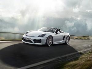 Porsche Boxster Spyder (Foto: Divulgação)