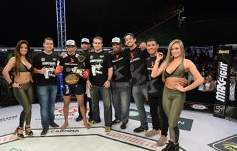 Bruno Beirute vence Vitor Toffanelli e é o campeão dos penas do Max Fight