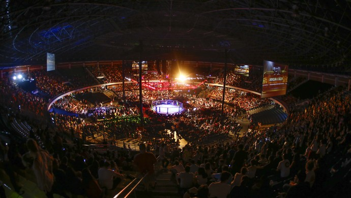 Ginásio Nilson Nelson UFC Brasília MMA (Foto: Divulgação / William Lucas / InovaFoto)