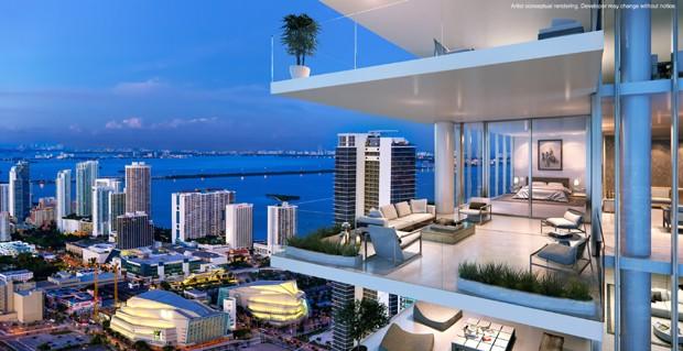 Paramount Miami Worldcenter será construído no centro de Miami (Foto: Divulgação)