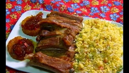 Veja a receita do prato vencedor do Comida Di Buteco: costelinha de porco com farofa molhada no leite de castanha do Pará