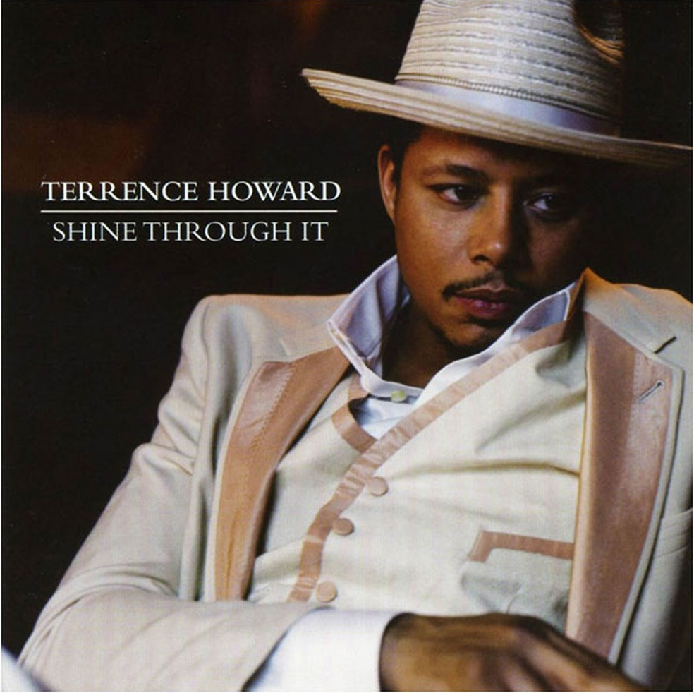 Capa do disco 'Shine throught it', lançado em 2008 pelo ator Terrence Howard (Foto: Divulgação)