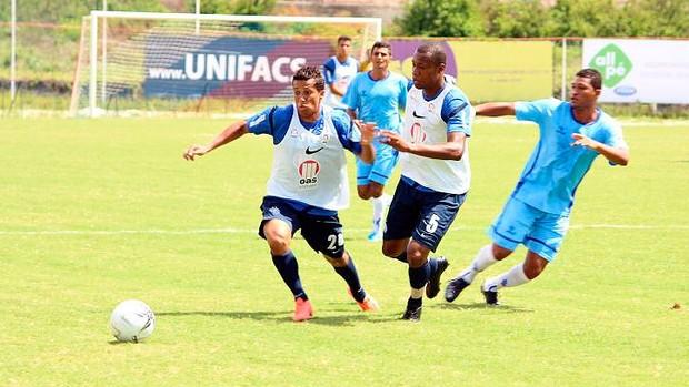 jogo-treino do bahia contra o atlantico (Foto: Divulgação / E.C. Bahia)