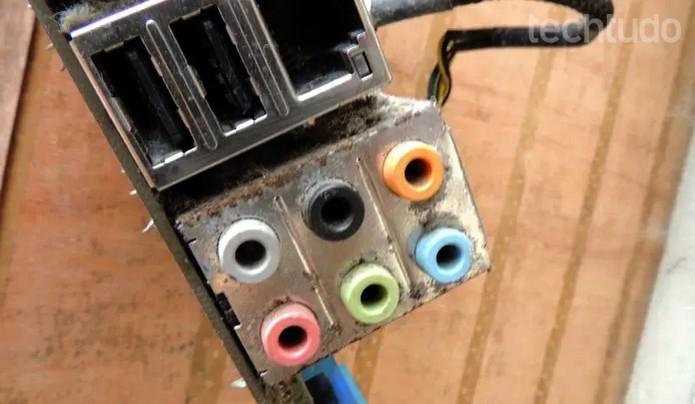 Problema pode ser na placa de som (Foto: Gabriel Ribeiro/TechTudo)