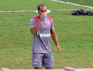 Felipe treino Vasco (Foto: Gustavo Rotstein / Globoesporte.com)