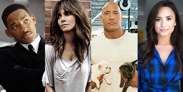 Will Smith Halle Berry Dwayne Johnson, Demi Lovato (Foto: Redes Sociais)