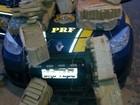 PRF encontra 260 kg de maconha em carro abandonado após acidente