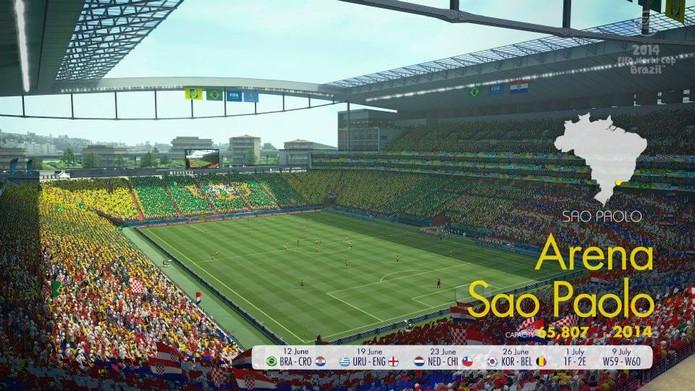 Arena São Paulo em Copa do Mundo Fifa Brasil 2014 (Foto: Divulgação)