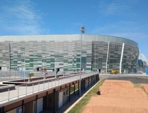 Ginásio do Centro de Formação Olímpica, em Fortaleza, no Ceará  (Foto: Crisneive Silveira/Divulgação)