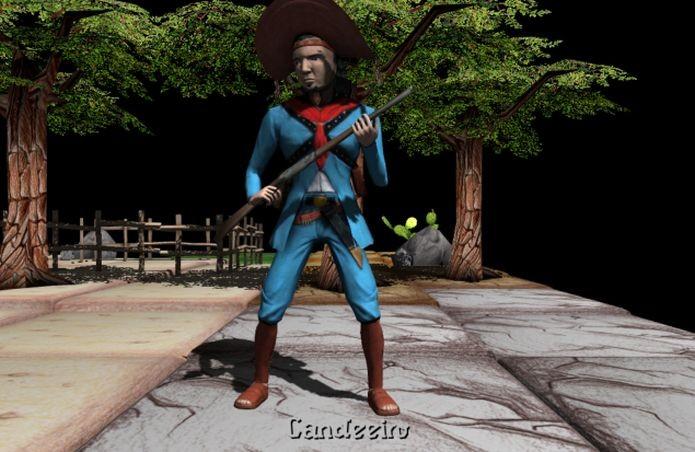 Cangaço, da Sertão Games, foi pensado há oito anos, em 2006 (Foto: Divulgação)