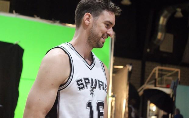 Pau Gasol é o principal reforço do San Antonio Spurs para a próxima temporada