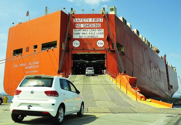 Exportação ; exportações ; balança comercial ; exportação de carros ;  (Foto: Ivan Bueno/APPA/Arquivo)