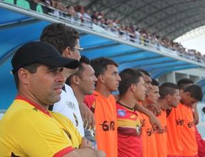 Globo FC - elenco (Foto: Kaline Rodrigues/Divulgação)