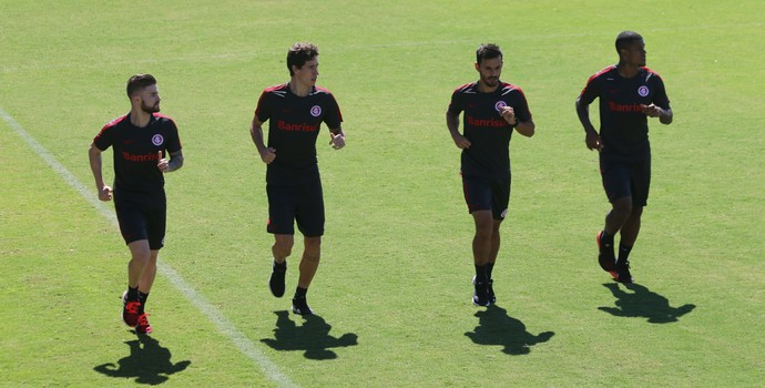 Eduardo Sasha Rodrigo Dourado Uendel Anselmo Inter (Foto: Tomás Hammes/GloboEsporte.com)