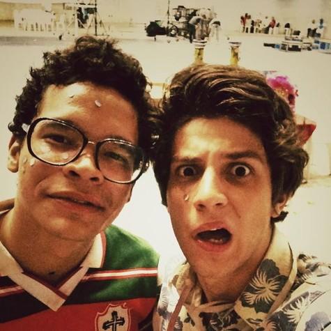 Chay Suede e José Trassi (Foto: Divulgação)