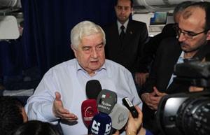 Em entrevista neste domingo (16), chanceler sírio negou fracasso em Genebra (Foto: Reuters)
