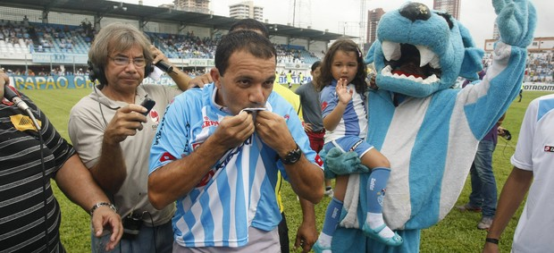 Atacante Iarley é uma das esperanças do torcedor do Paysandu (Foto: Marcelo Seabra/O Liberal)
