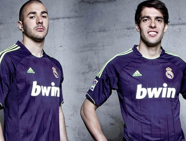 Real Madrid lança novos uniformes (Foto: Divulgação)