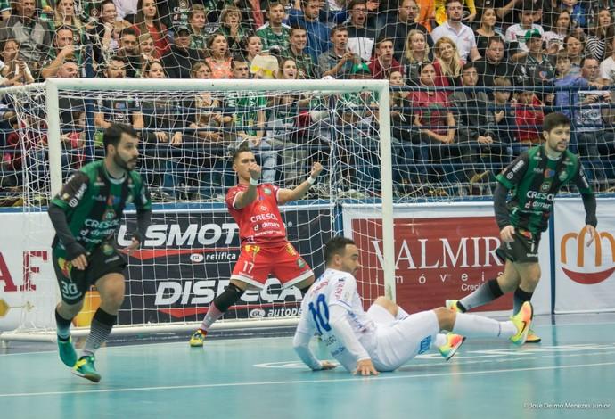Pato Futsal x Marreco LNF (Foto: José Delmo Menezes Jr/Divulgação)
