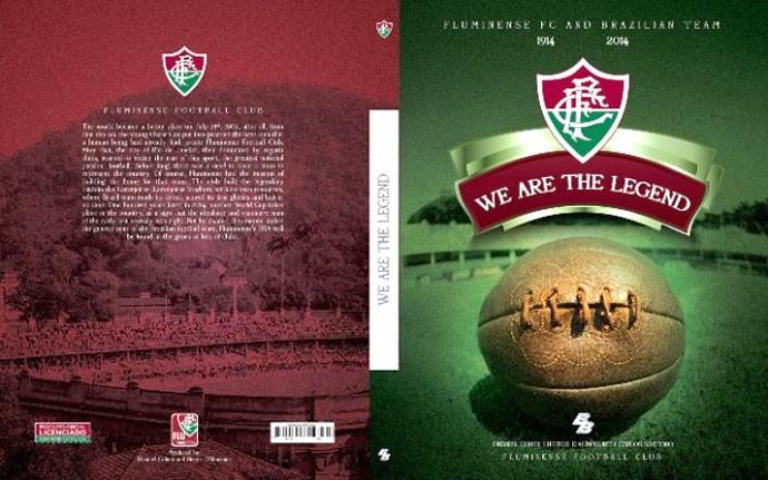 Livro do Fluminense (Foto: Divulgação / Site Oficial do Fluminense)