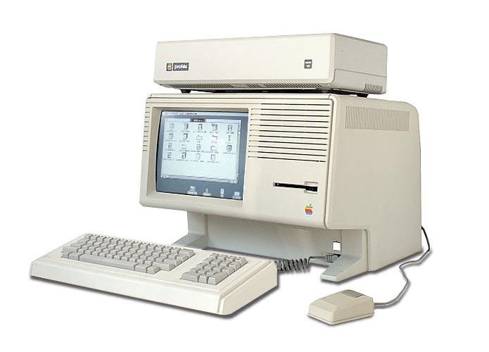 Apple Lisa introduziu interface gráfica (Foto: Divulgação/Apple)