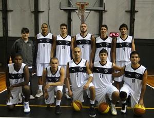 Basquete Botafogo (Foto: Divulgação)