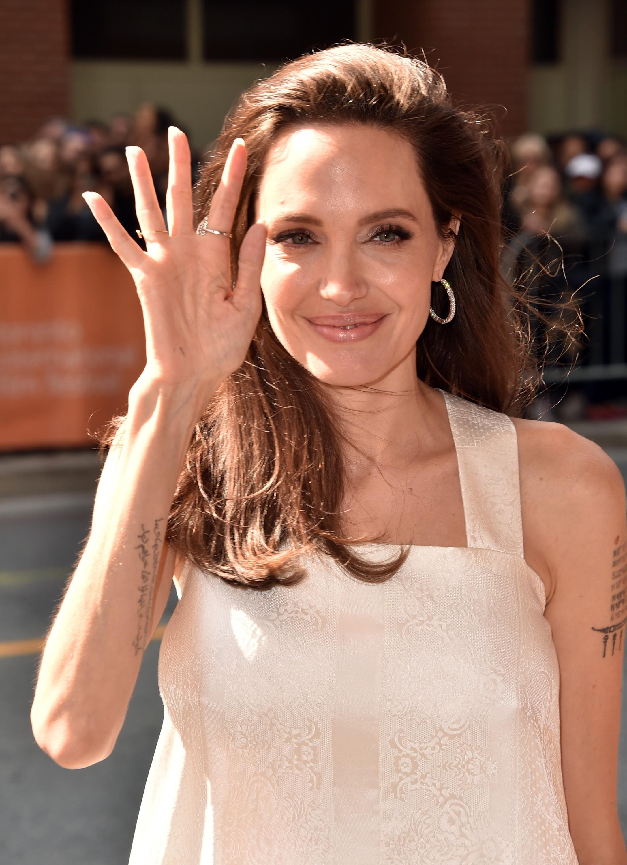 Angelina Jolie na pré-estreia do filme The Breadwinner (Foto: Alberto E. Rodriguez/Getty Images)