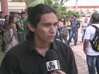 Estudantes indígenas fazem protesto  contra racismo na reitoria da UFRR