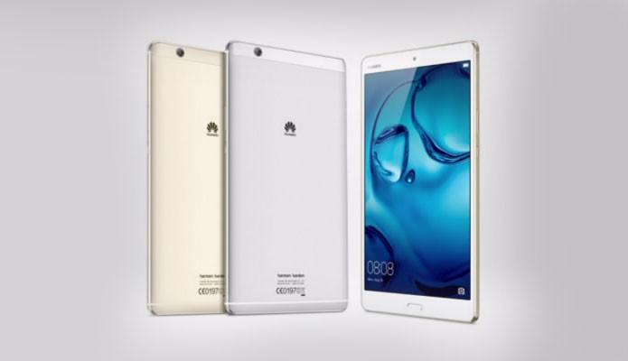 Tablet MediaPad M3 tem tela Quad HD e acabamento metálico (Foto: Divulgação/Huawei)