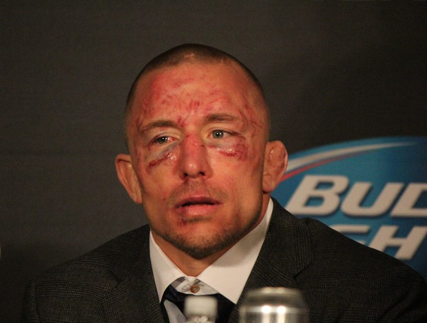 Georges St-Pierre MMA UFC (Foto: Evelyn Rodrigues)