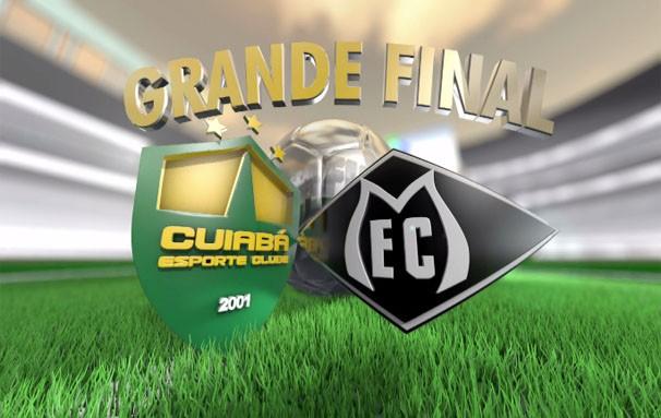 A emoção entra em campo. Quem sairá com a vitória do Campeonato Mato-grossense 2013? (Foto: Reprodução/TVCA)
