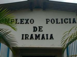 Complexo policial de Iramaia, cidade na região da Chapada Diamantina, na Bahia (Foto: Blog do Marcos Frahm)