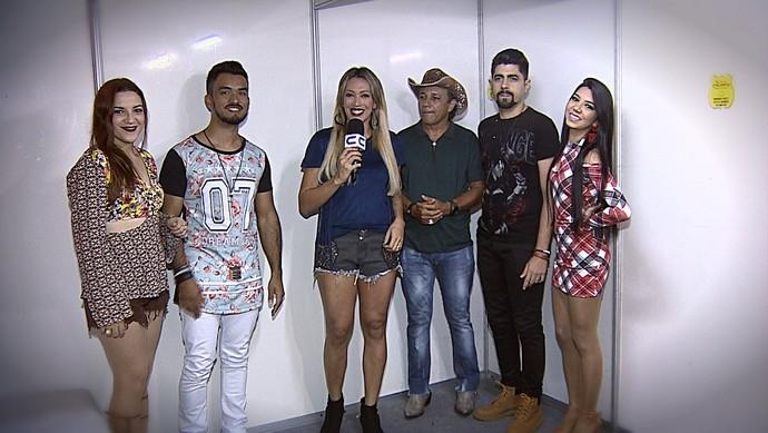 Banda Mastruz com Leite anima a quarta noite de Forró Caju (Foto: TV Sergipe)