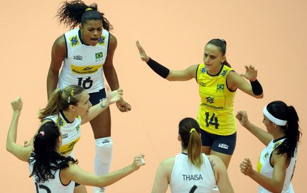 Brasil x Cuba, Grand Prix de Vôlei (Foto: FIVB / Divulgação)