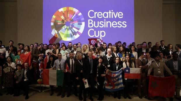 Cerimônia de encerramento da Creative Business Cup de 2016, na Dinamarca (Foto: Divulgação)