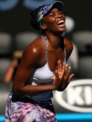 Venus Williams avança à final do Aberto da Austrálioa depois de 14 anos (Foto: Getty Images)
