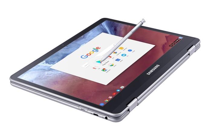 Chromebook Pro também tem design híbrido com tela compacta (Foto: Divulgação/Samsung)