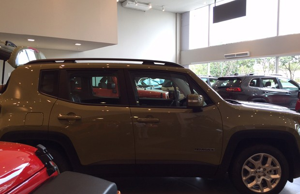 Jeep Renegade (Foto: Autoesporte)