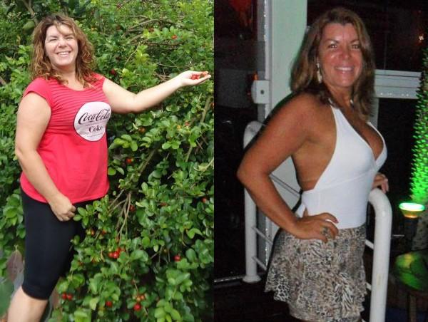 Há três meses, Adriana pesava 73,8 kg (Foto: Arquivo pessoal)