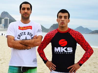 Allan Puro Osso, Diego Lima e Thomas Almeida MMA (Foto: Felipe Fiorito/Divulgação)