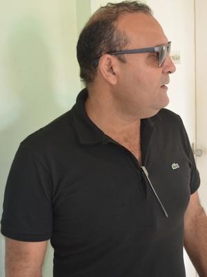william simões, presidente, campinense (Foto: Phelipe Caldas / GloboEsporte.com/pb)