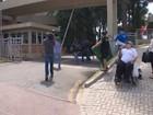 Marcelo Odebrecht chega para depor em ação contra chapa Dilma-Temer