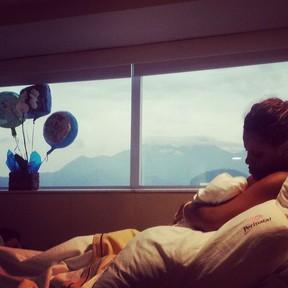 Nasce filho de Igor Rickli, Antonio (Foto: Instagram / Reprodução)