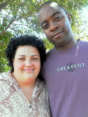 Flavia Luciana da Silva Garcia e Everton Benedito Garcia estão juntos há 14 anos (Foto: Claudia Assencio/G1)