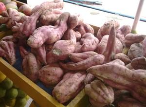 Batata doce é uma importante fonte de carboidrato (Foto: Luti Gomes/Globoesporte.com)