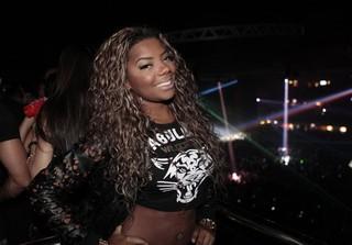 MC Ludmilla em show no Rio (Foto: Isac Luz/ EGO)