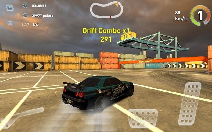 Pilote os melhores carros do mundo do drifting em Real Drift Car Racing (Foto: Divulgação)