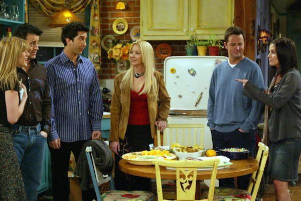 O elenco da série 'Friends' (Foto: Reprodução)